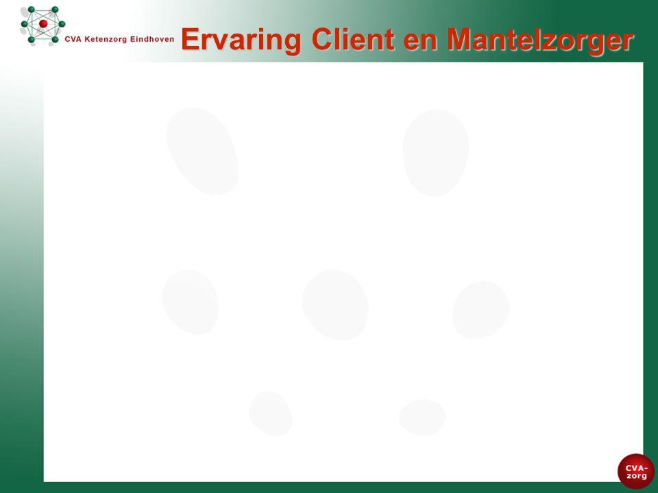 Ervaring Client en Mantelzorger