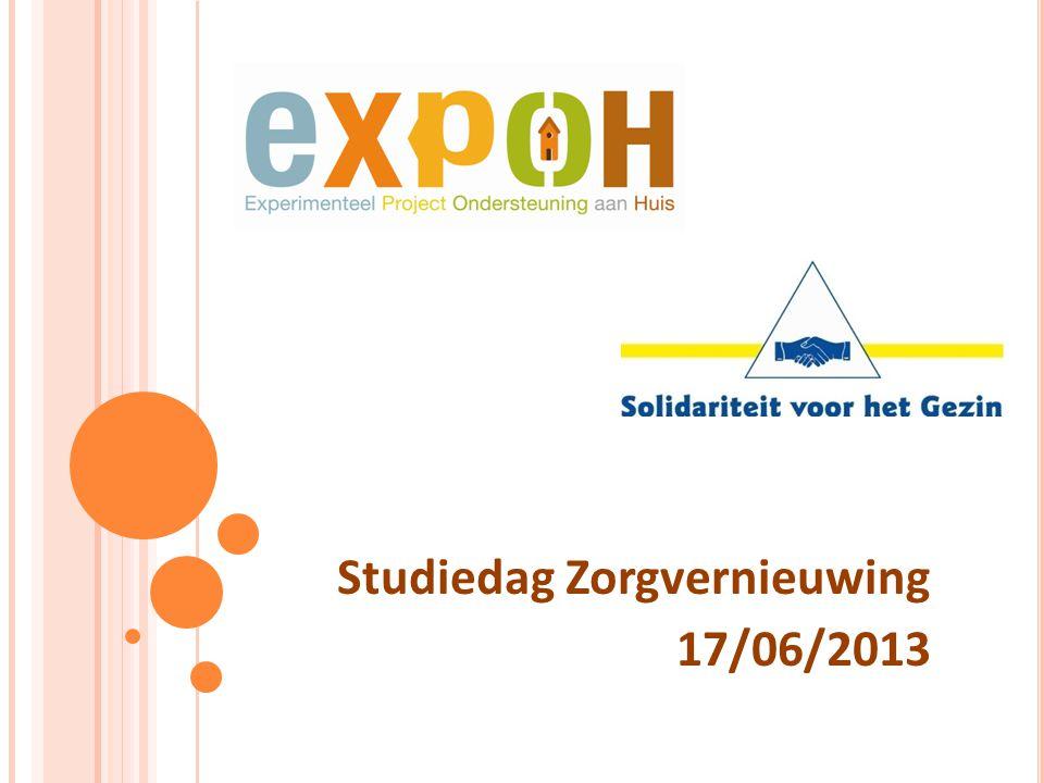 V OORSTELLING Toelichting werking Expoh (2010-2012) Filmpje samenwerking Solidariteit voor het Gezin - Expoh Intersectorale samenwerking: reflectie Besluit