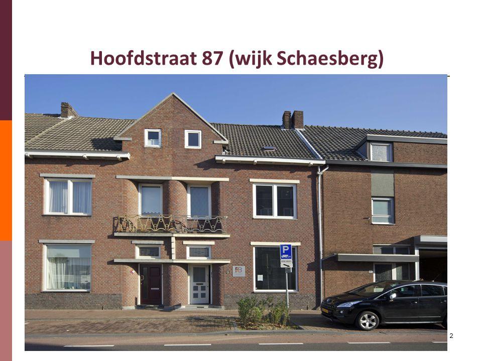 2 Hoofdstraat 87 (wijk Schaesberg)