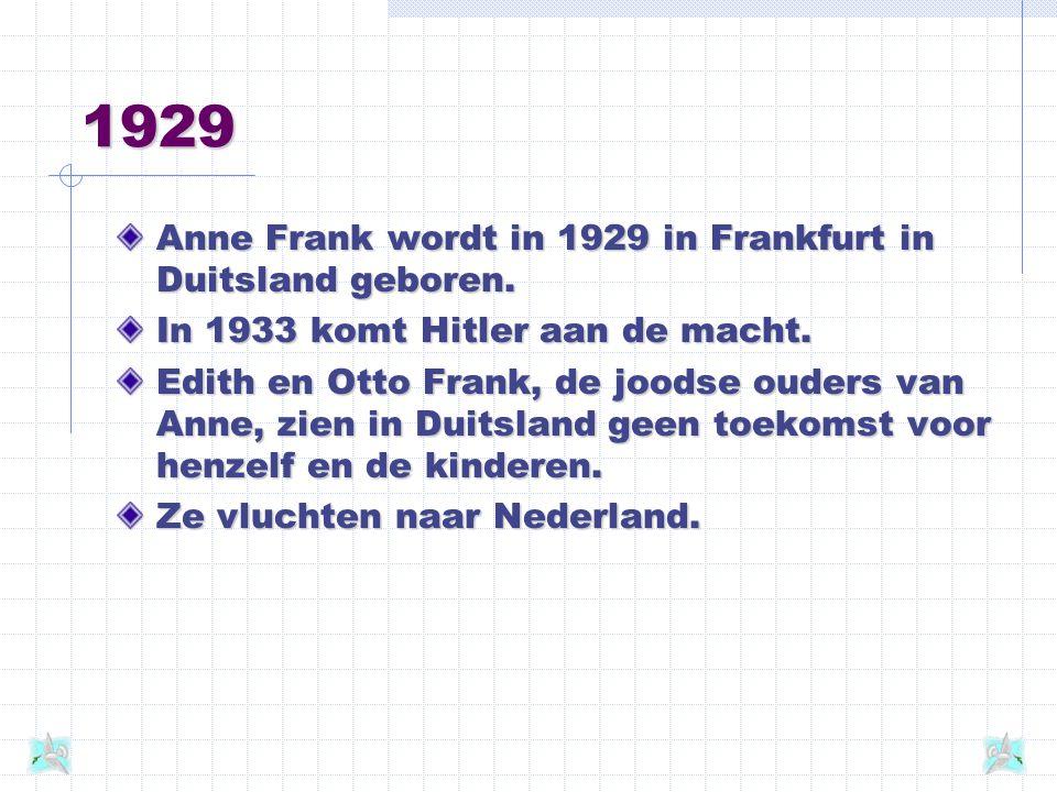 Miep en Bep Toen Otto Frank in 1942 aan Miep Gies, zijn secretaresse, vroeg of zij hem en zijn medevennoot Van Pels wilde helpen om met hun gezinnen in het bedrijf onder te duiken, was haar antwoord een spontaan ja.