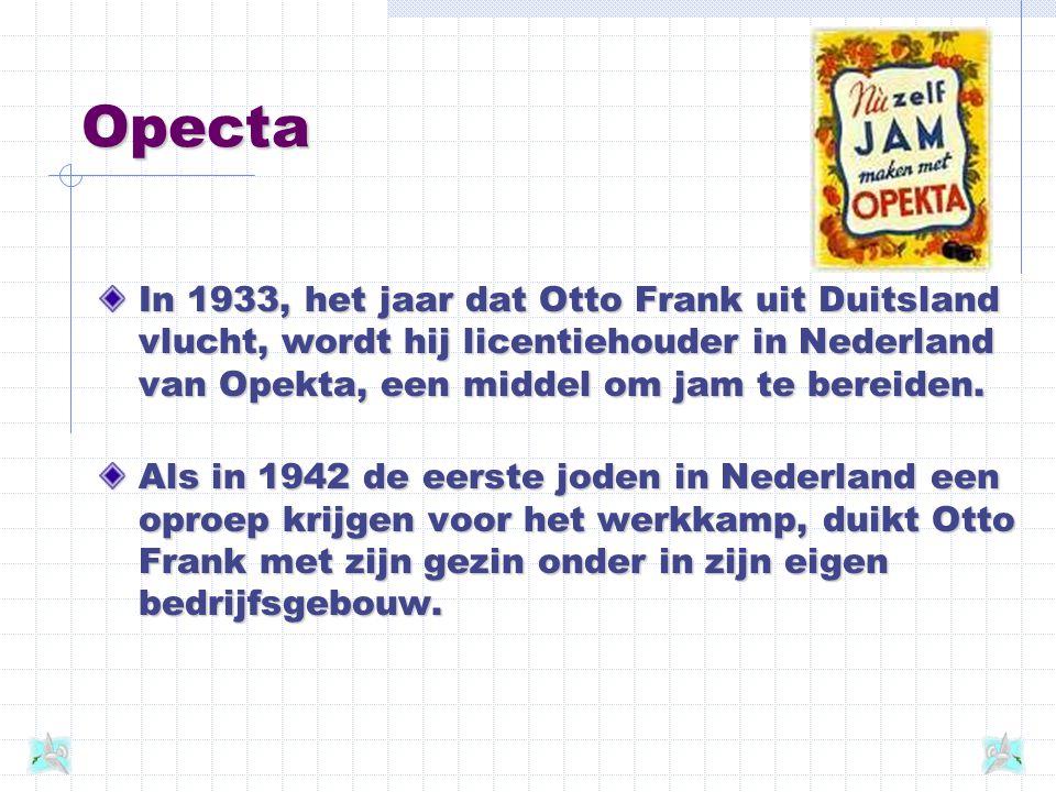 Het dagboek Tijdens haar onderduik houdt Anne Frank een dagboek bij.