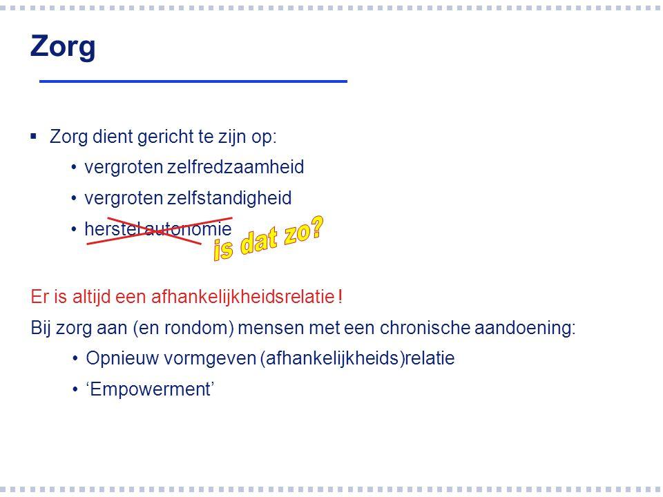 Veranderingen  Samenhang (ketenzorg, integrale zorg)  Zorg aan of dichtbij huis  Welzijn en zorg bij elkaar gebracht (WMO)  Lokale bestuur verantwoordelijk  Regie functie is onduidelijk  Wat doet de gemeente.