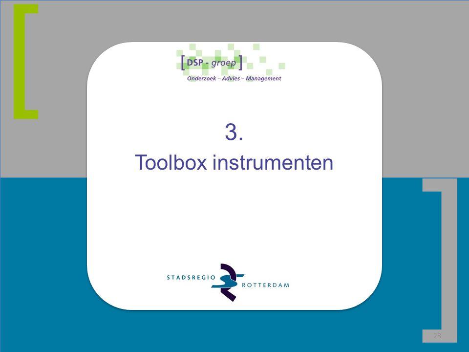 [ ] 3. Toolbox instrumenten 28