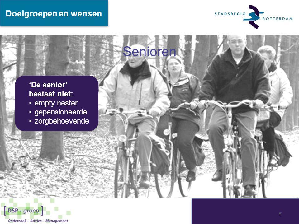 Senioren 'De senior' bestaat niet: empty nester gepensioneerde zorgbehoevende 'De senior' bestaat niet: empty nester gepensioneerde zorgbehoevende Doe