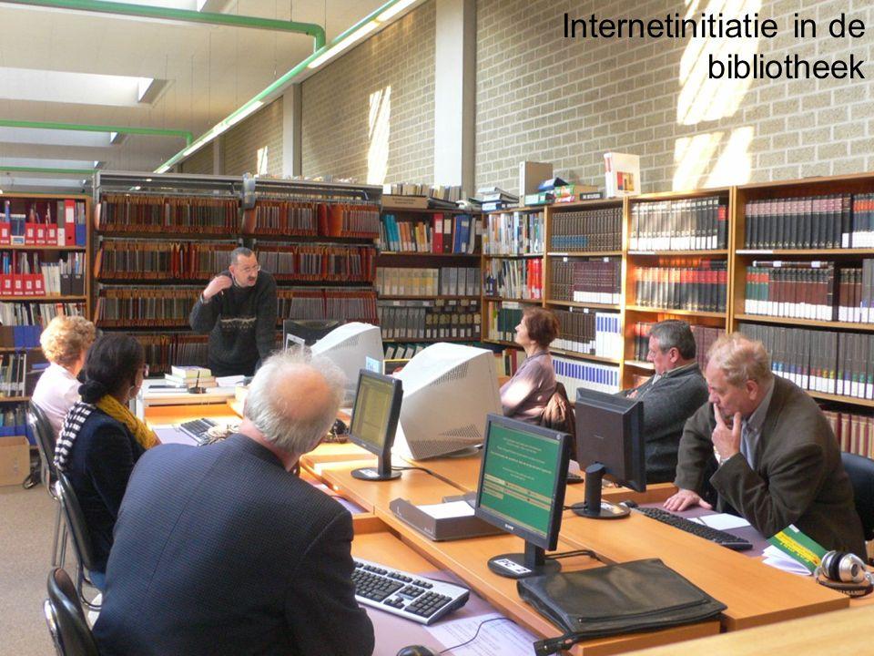 Internetinitiatie in de bibliotheek