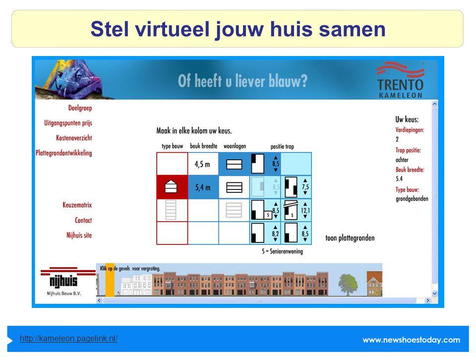 Stel virtueel jouw huis samen http://kameleon.pagelink.nl/
