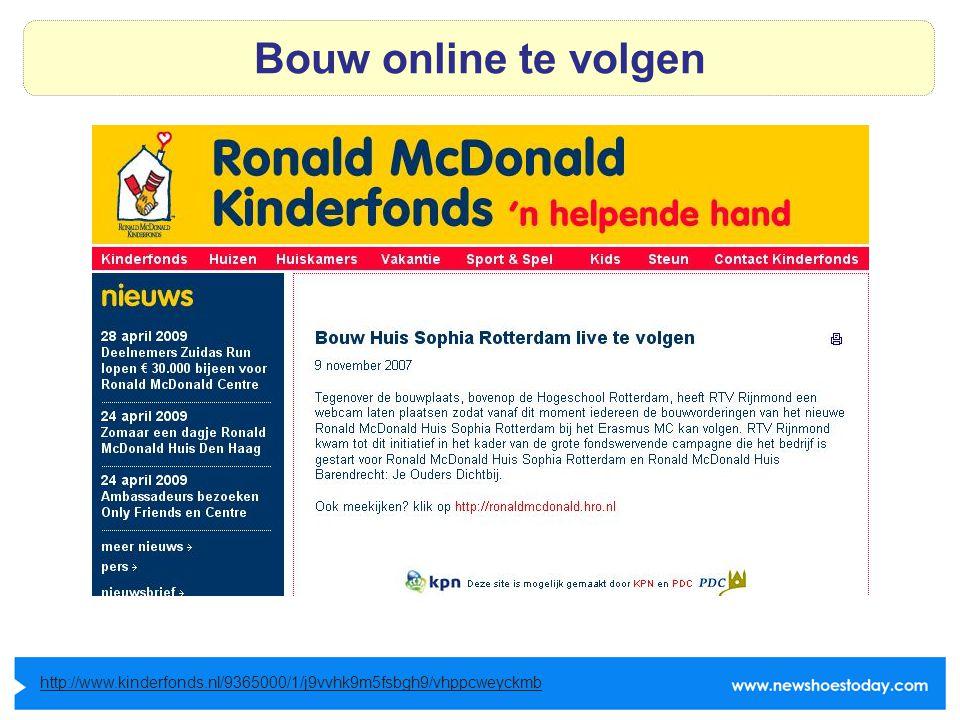 Bouw online te volgen http://www.kinderfonds.nl/9365000/1/j9vvhk9m5fsbgh9/vhppcweyckmb