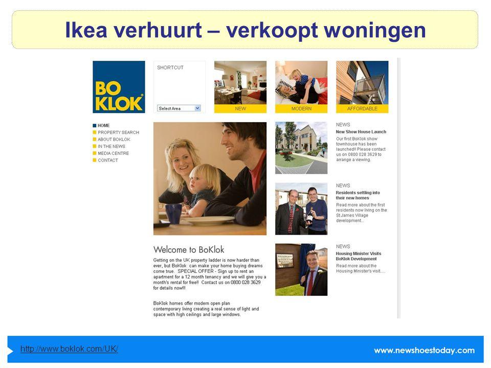 Ikea verhuurt – verkoopt woningen http://www.boklok.com/UK/