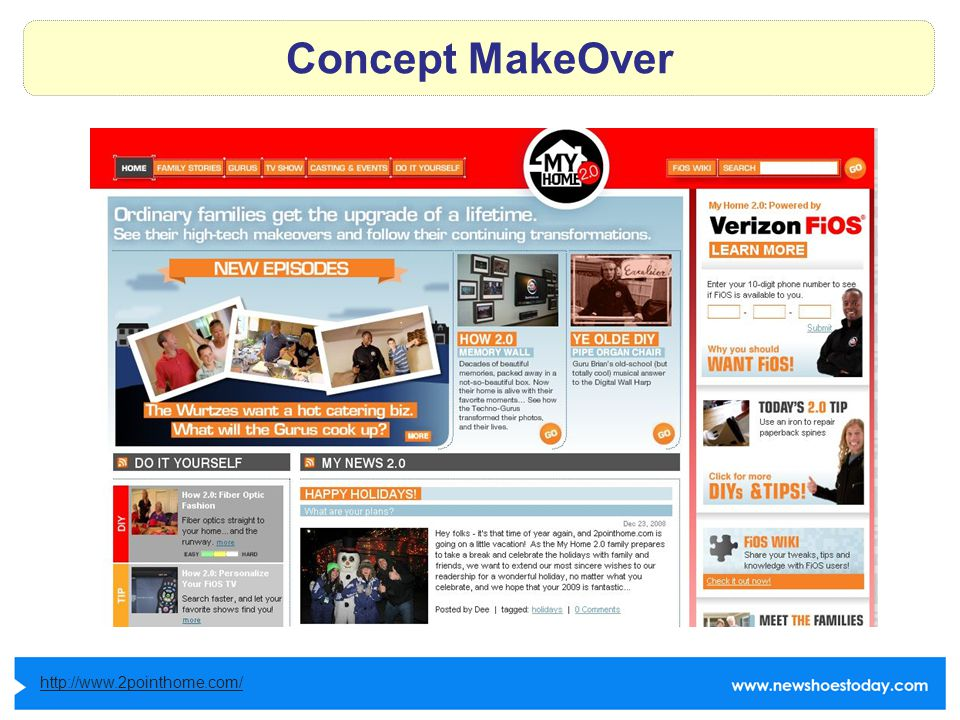 Concept MakeOver http://www.2pointhome.com/