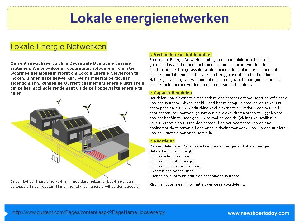 Lokale energienetwerken http://www.qurrent.com/Pages/content.aspx PageName=localenergy