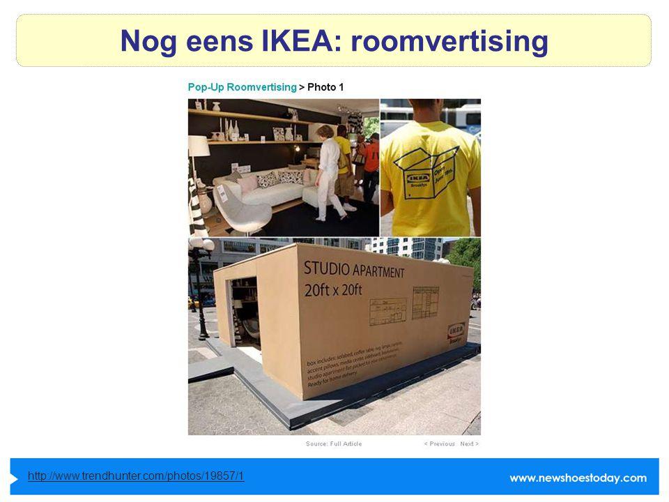 Nog eens IKEA: roomvertising http://www.trendhunter.com/photos/19857/1
