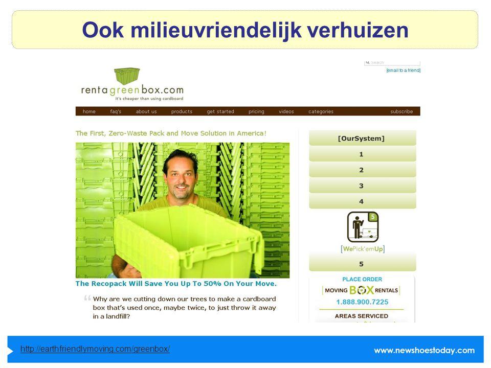 Ook milieuvriendelijk verhuizen http://earthfriendlymoving.com/greenbox/