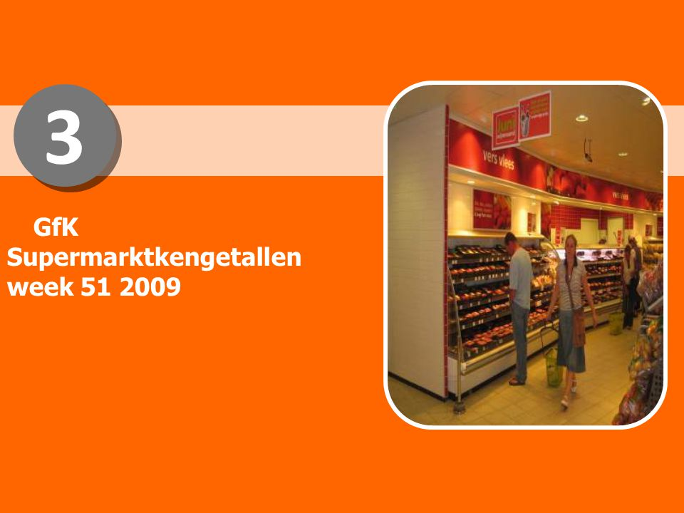 3 3 GfK Supermarktkengetallen week 51 2009