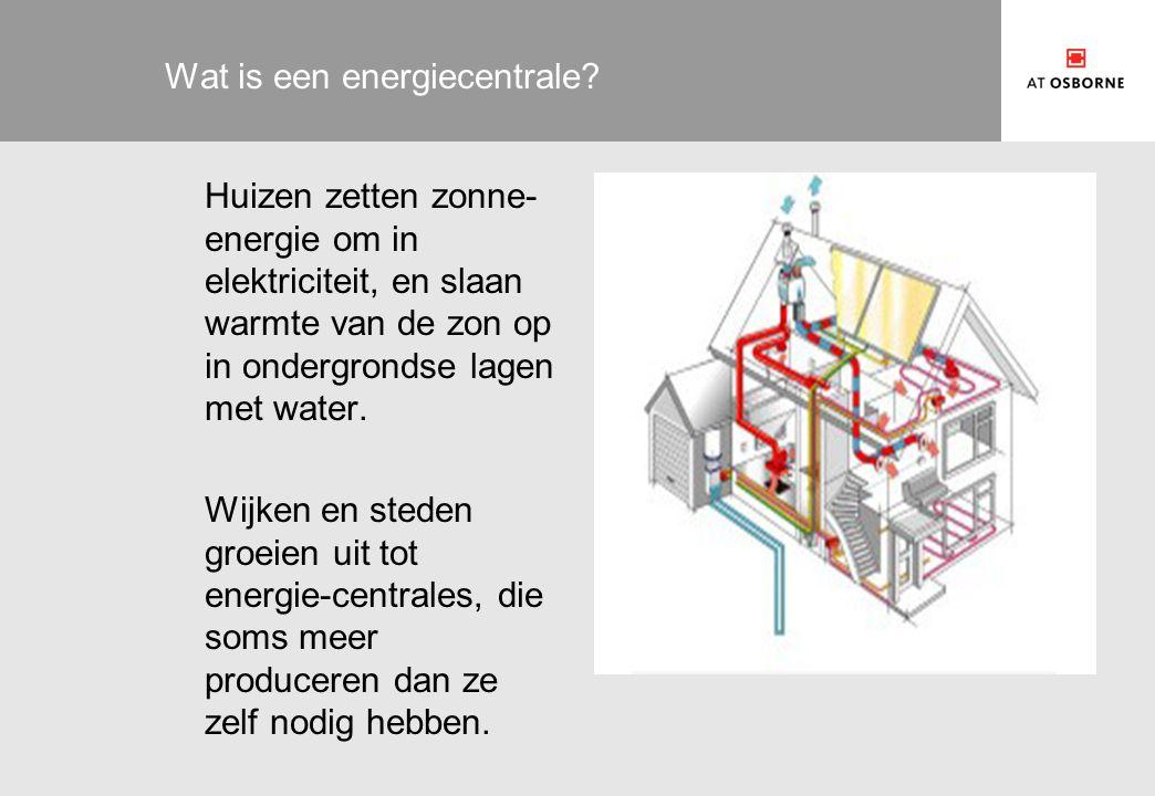 Wat is een energiecentrale.