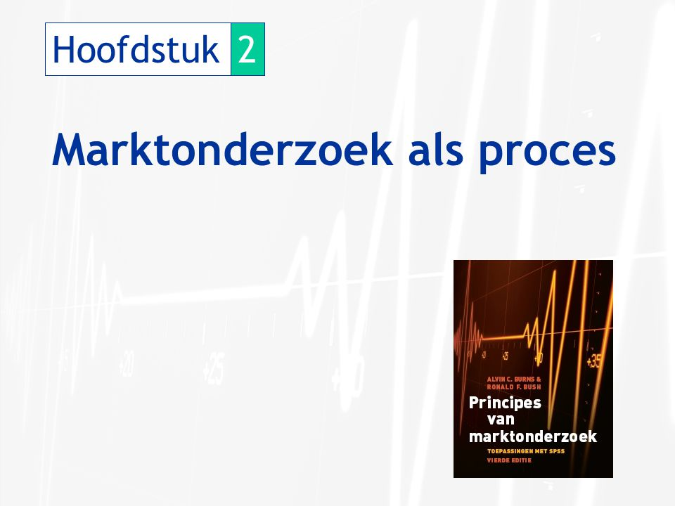 Hoofdstuk2 Marktonderzoek als proces