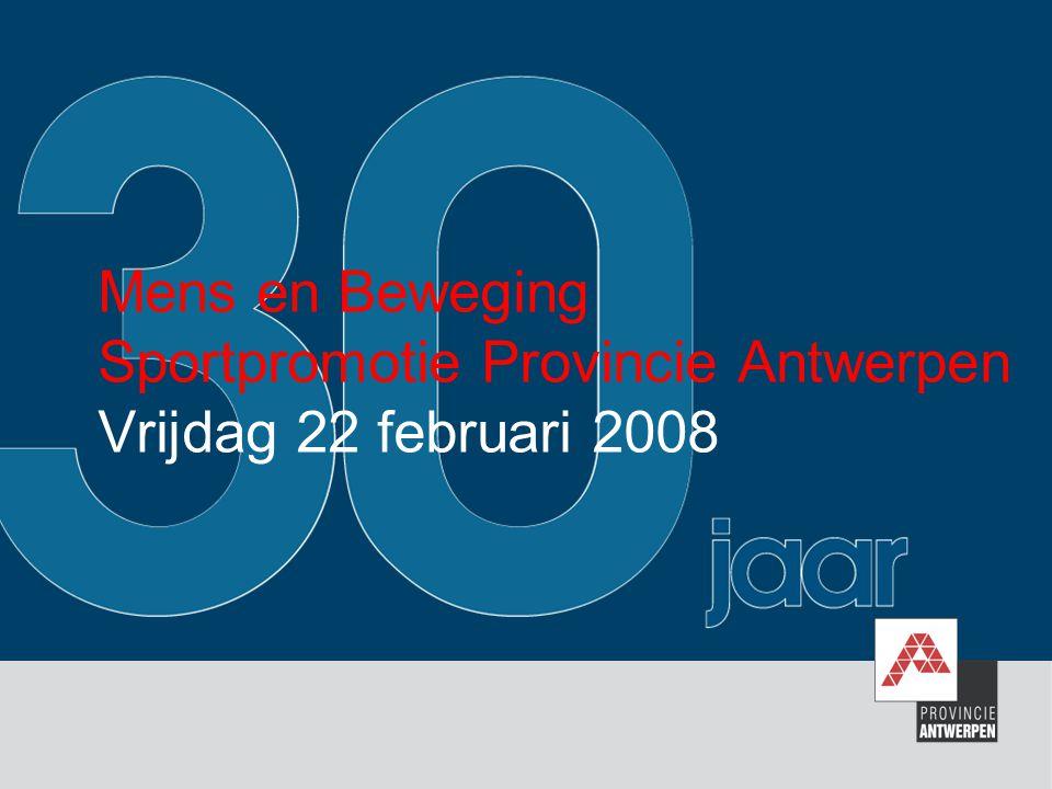 1994 Huldiging van Jeugd- en Sportgemeente Ontstaan BENEGO werkgroep Opstart uitleendienst Prova Sportcentrum in Brasschaat Van Prova Sportcentrum naar Sportcentrum Peerdsbos