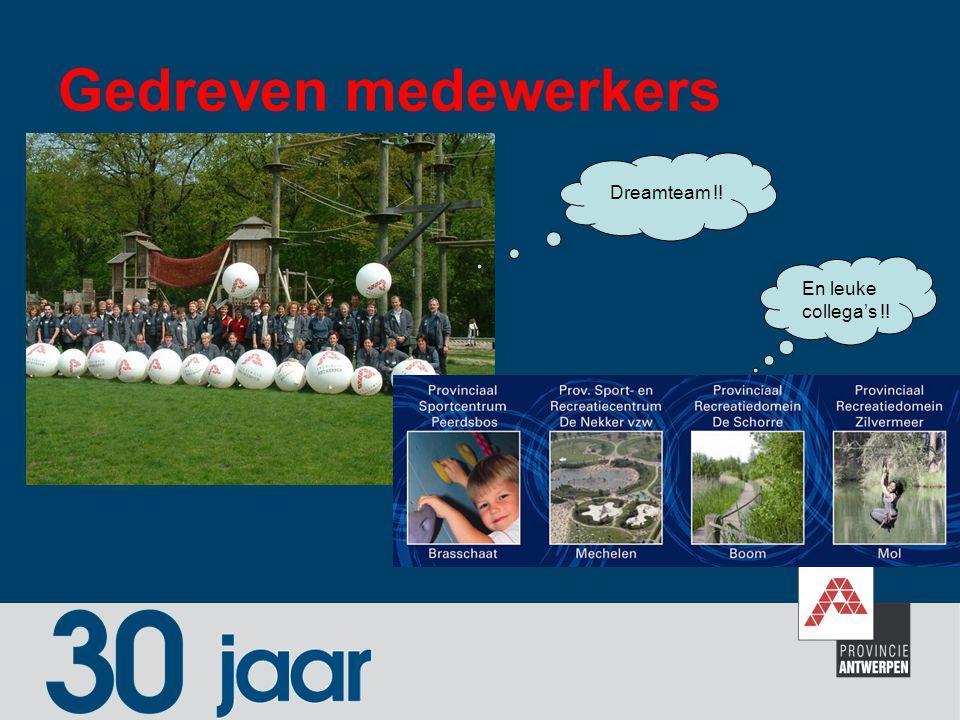 Gedreven medewerkers Dreamteam !! En leuke collega's !!