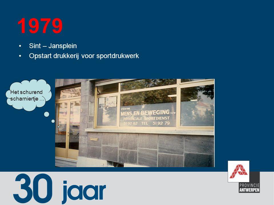 1989 - 1990 Ontplooiing regiowerking en sportvorming Daar was werk aan …