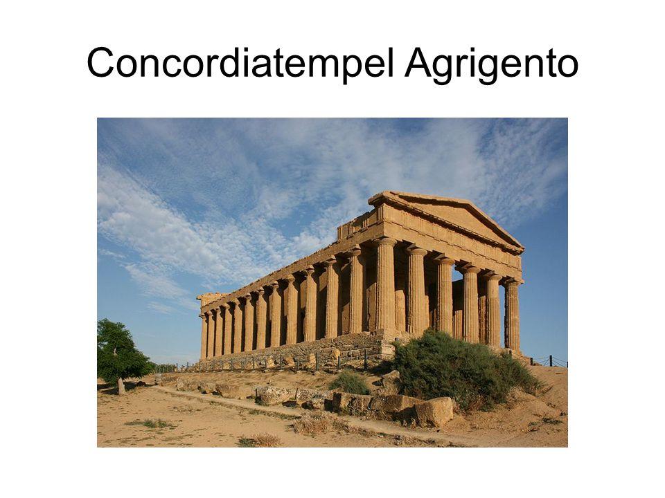 Concordiatempel Agrigento