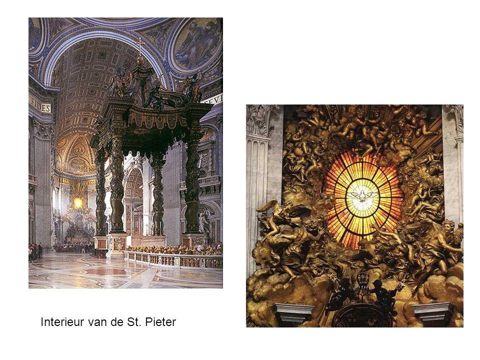 Interieur van de St. Pieter