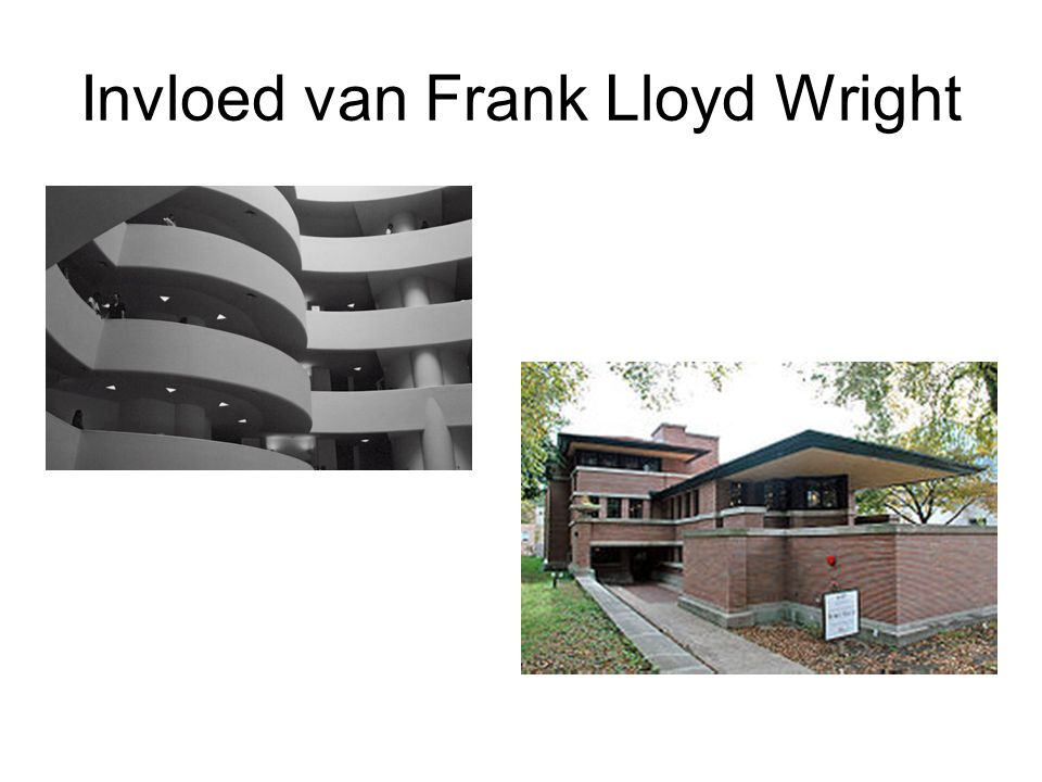 Invloed van Frank Lloyd Wright