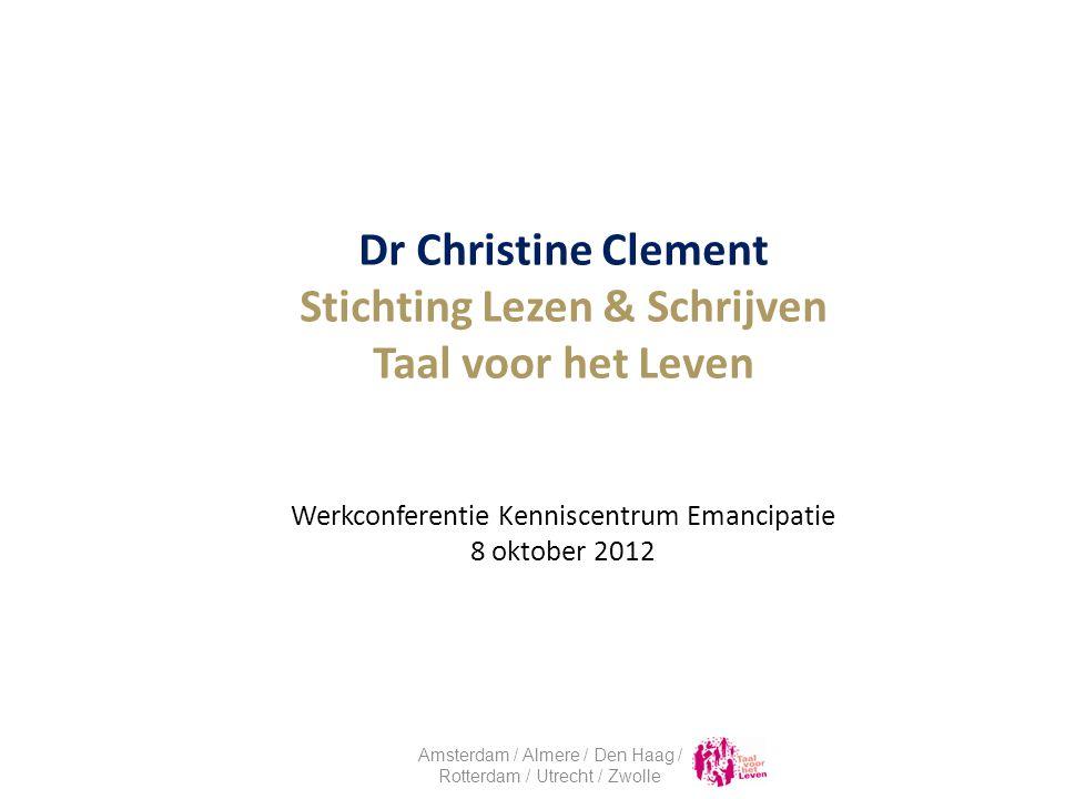Facts & Figures Oorzaken en gevolgen Laaggeletterdheid in Rotterdam Wat is Taal voor het Leven.