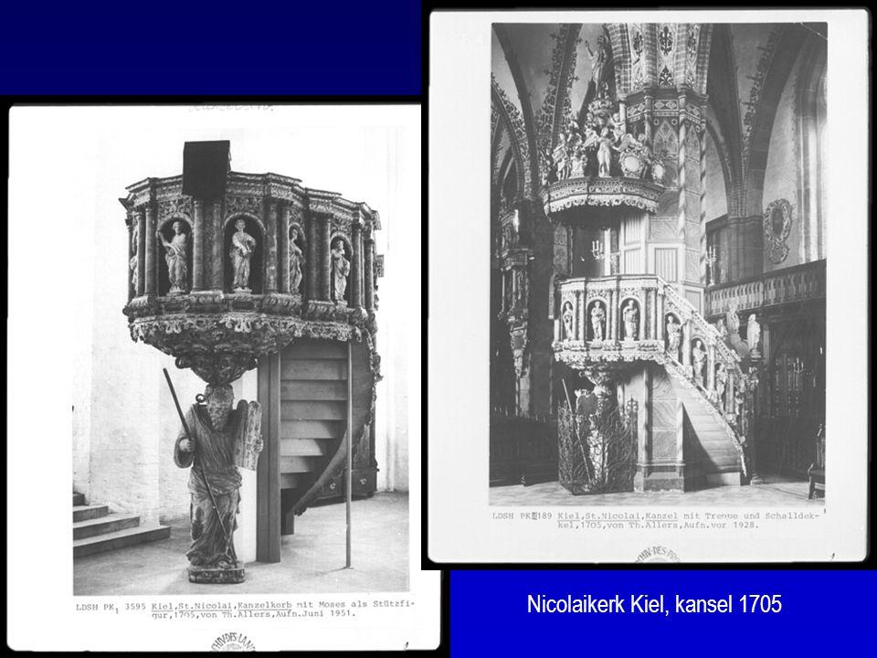 Nicolaikerk Kiel, kansel 1705