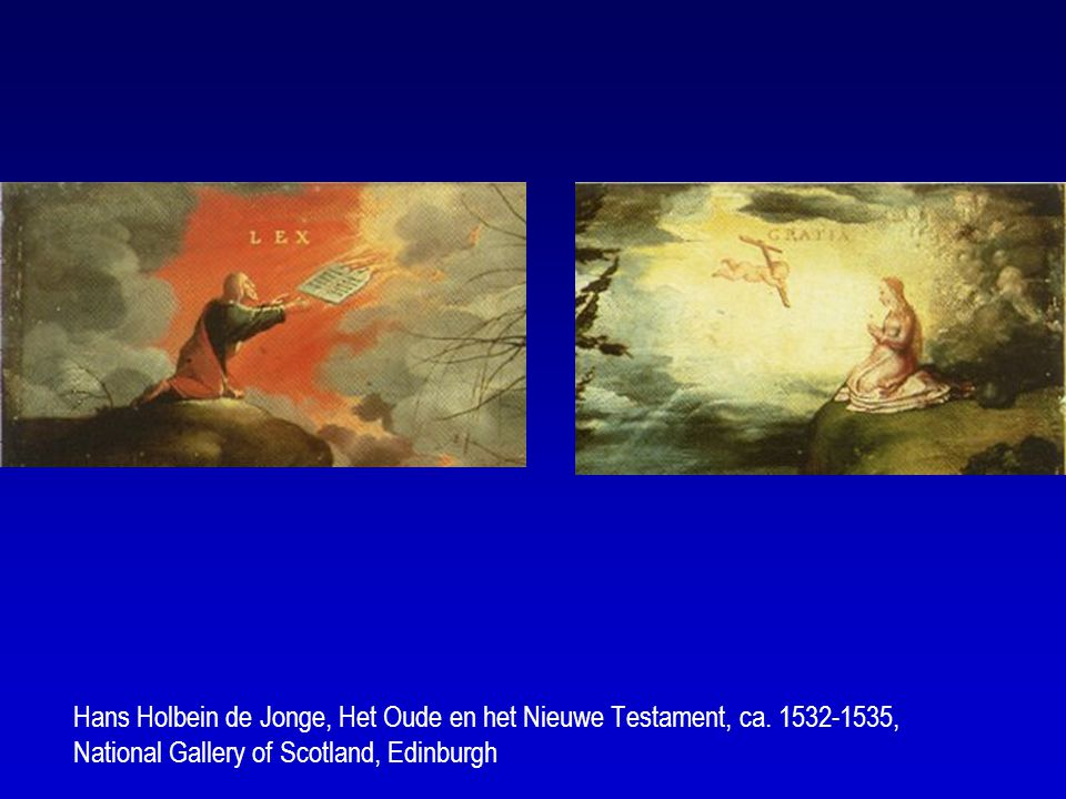 Hans Holbein de Jonge, Het Oude en het Nieuwe Testament, ca.