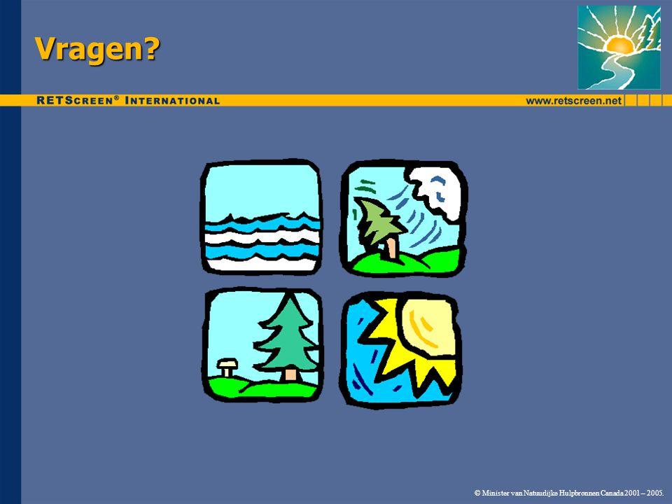 © Minister van Natuurlijke Hulpbronnen Canada 2001 – 2005. Vragen?