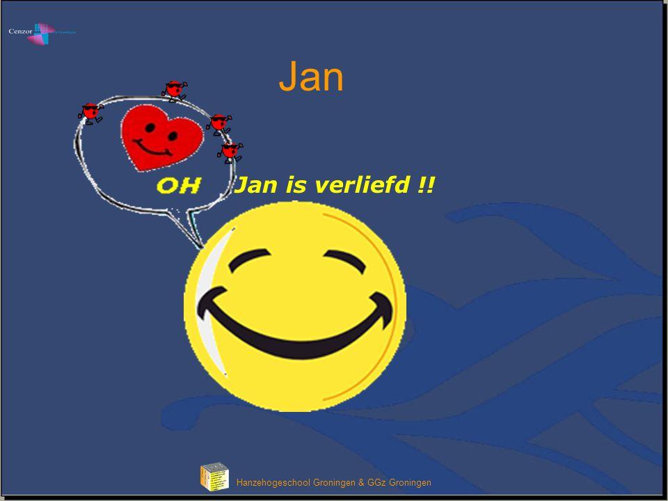 Hanzehogeschool Groningen & GGz Groningen Jan is verliefd !! Jan
