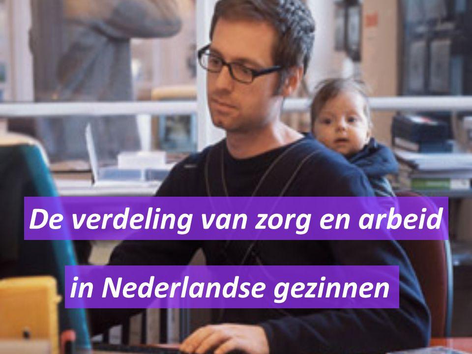 De verdeling van zorg en arbeid in Nederlandse gezinnen