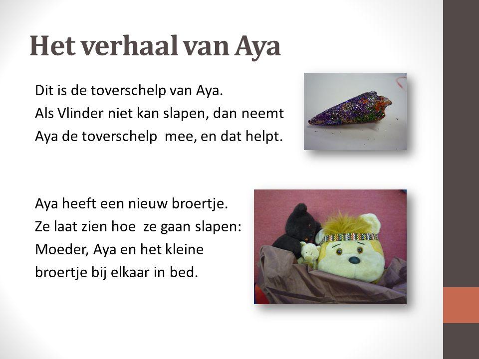 Het verhaal van Aya Dit is de toverschelp van Aya.