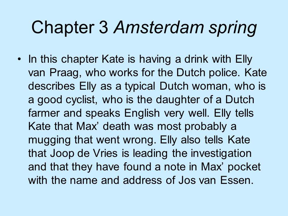 In dit hoofdstuk ontdekt Kate dat Tom Carson de laatste jaren veel aandelen heeft verloren, voornamelijk aan Martijn Christiaans.