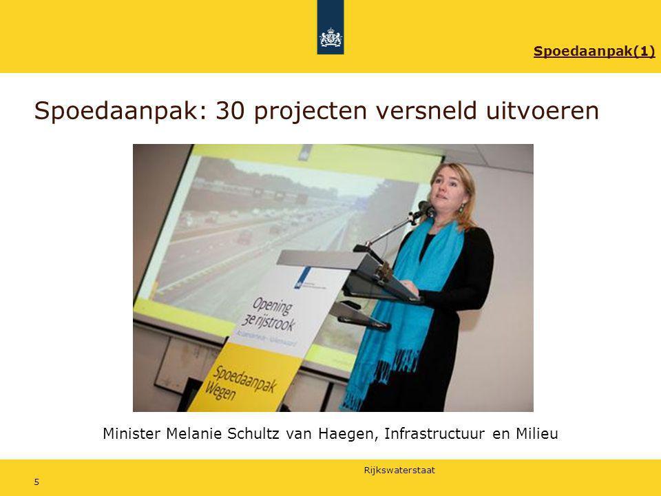 Rijkswaterstaat 16 Aanpak van de werkzaamheden Patricia Hol, omgevingsmanager 1.Waarom nu aan de slag.
