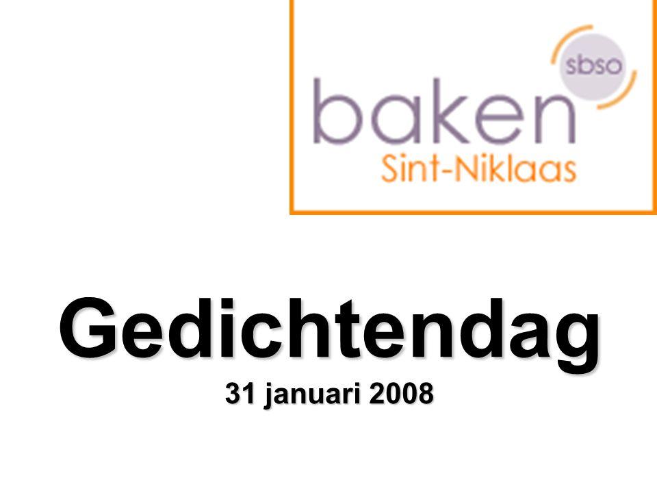 Gedichtendag 31 januari 2008