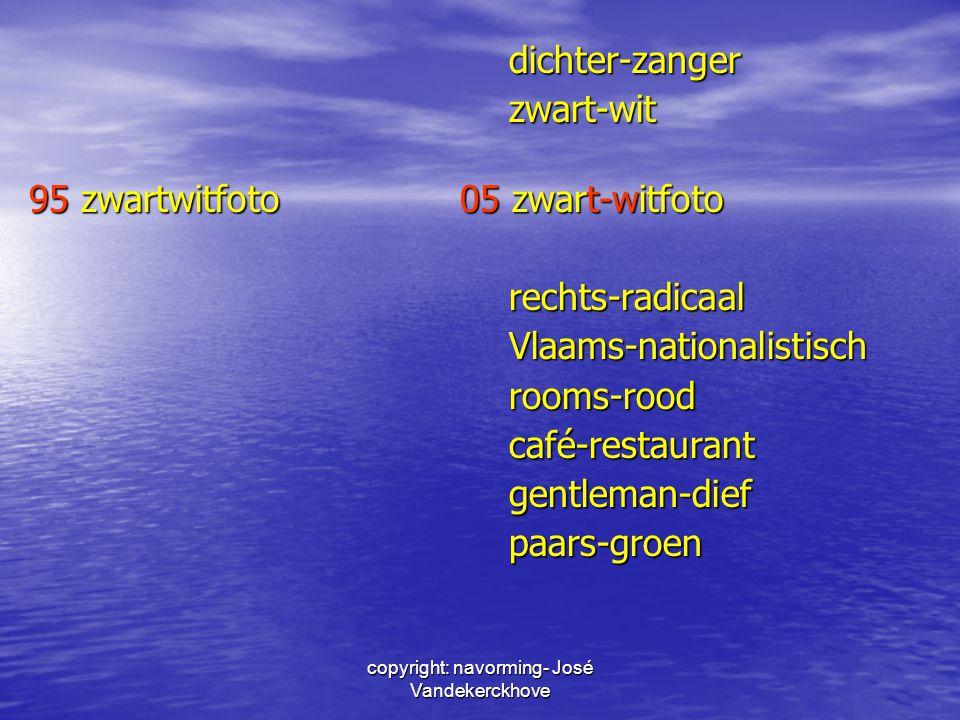 copyright: navorming- José Vandekerckhove dichter-zangerzwart-wit 95 zwartwitfoto 05 zwart-witfoto rechts-radicaalVlaams-nationalistischrooms-roodcafé