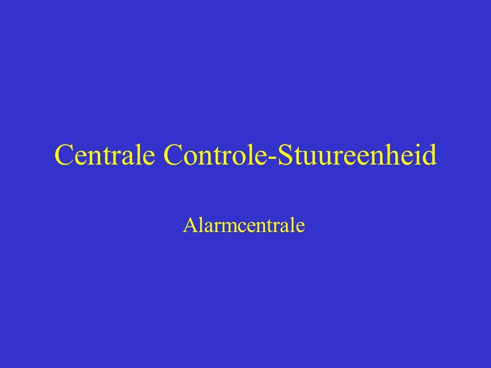 Centrale Controle-Stuureenheid Alarmcentrale