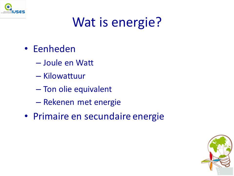 Wat is energie.