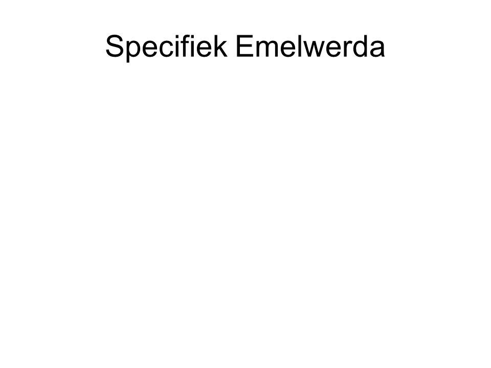 Specifiek Emelwerda