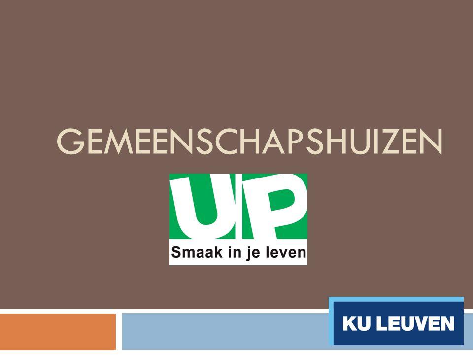 Inhoudstafel  Een kot van UP  Verwachtingen  Overzicht gemeenschapshuizen  Kotkandidaat  Vragen