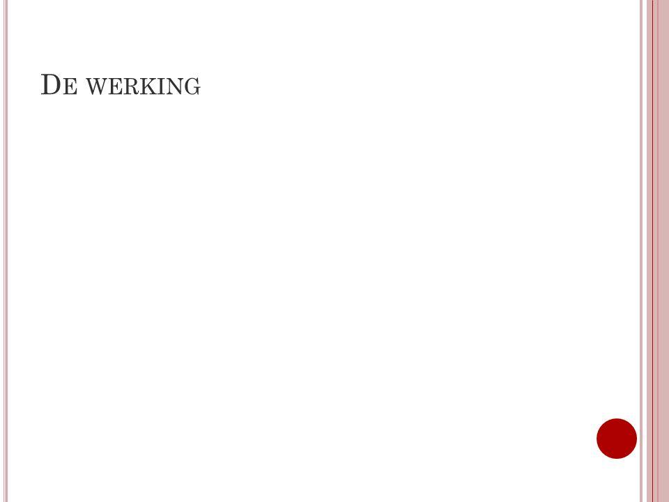 D E WERKING