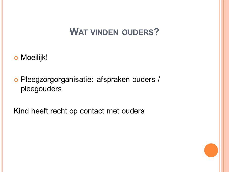 W AT ZIJN PLEEGOUDERS Gewone mensen die kinderen willen helpen Ellen, Fred, dochter Eva, pleegzoon Wolter http://www.pleegzorgparlan.nl/documents/pleegzorg/fred_en_ellen.pdf