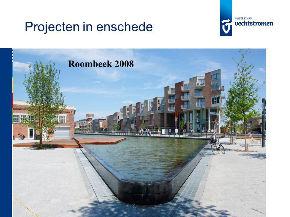 Projecten in enschede Roombeek 2008