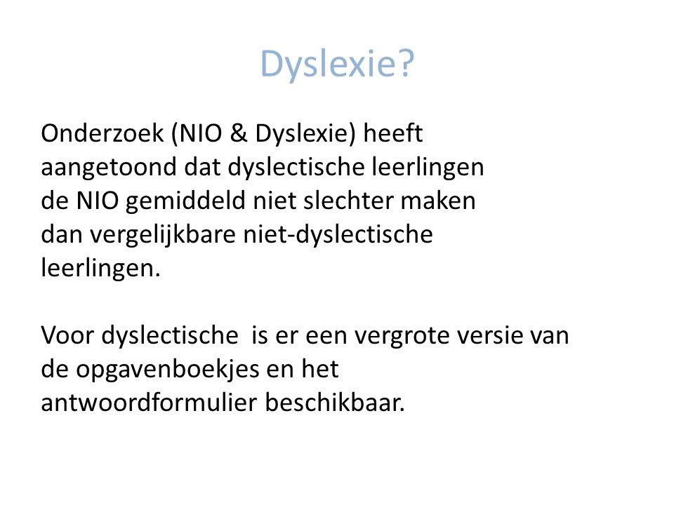 Dyslexie.