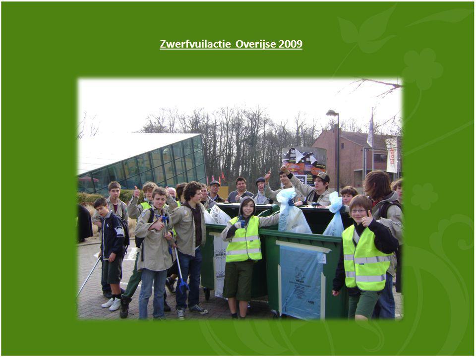 Zwerfvuilactie Overijse 2009