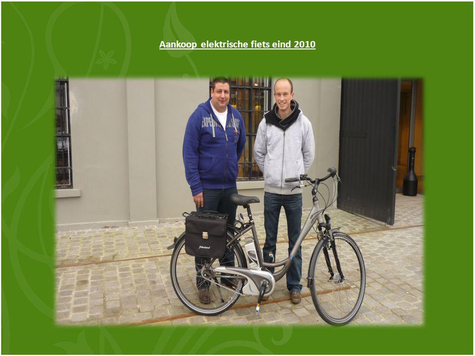 Aankoop elektrische fiets eind 2010