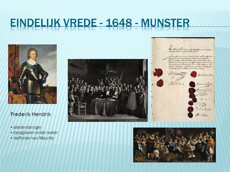 Frederik Hendrik stedendwinger loopgraven onder water halfbroer van Maurits