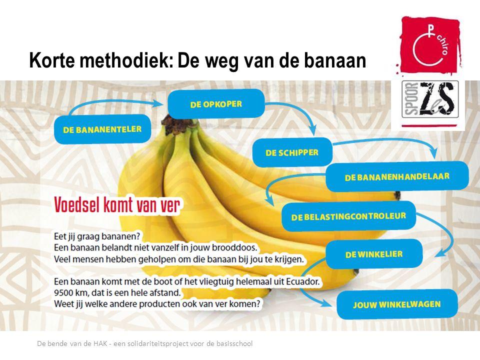De bende van de HAK - een solidariteitsproject voor de basisschool Korte methodiek: De weg van de banaan