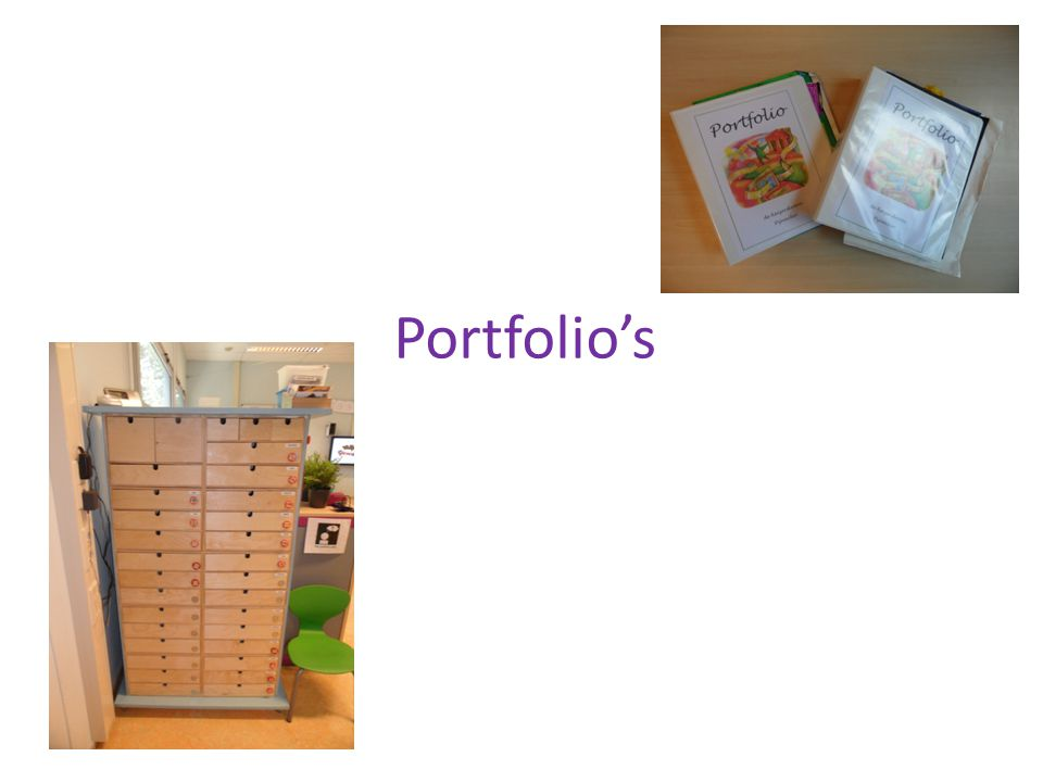 Portfolio's