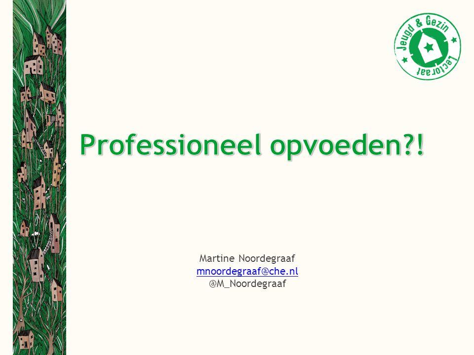 Martine Noordegraaf mnoordegraaf@che.nl @M_Noordegraaf
